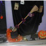 Vitrine de Halloween