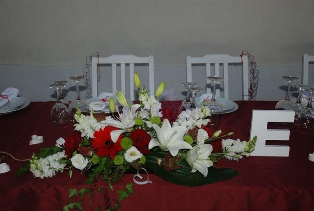 Flores para evento bodas