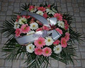 Coroa de Funeral S Tons Rosa