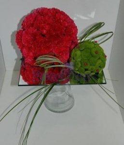 Arranjo Floral Bolas