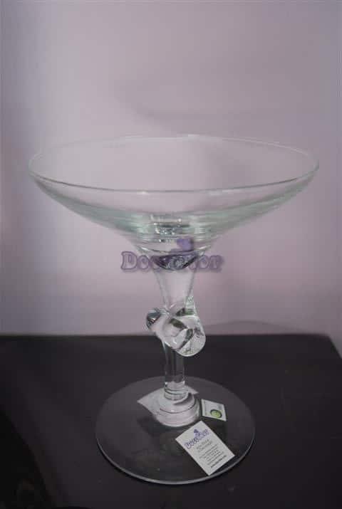 castiçal vidro