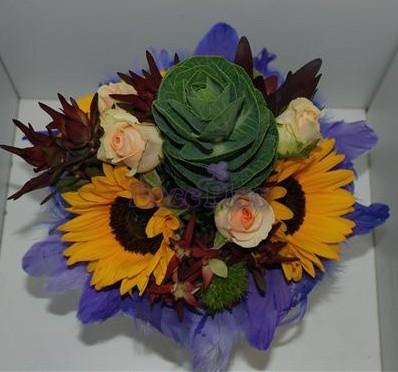 Bouquet brassica