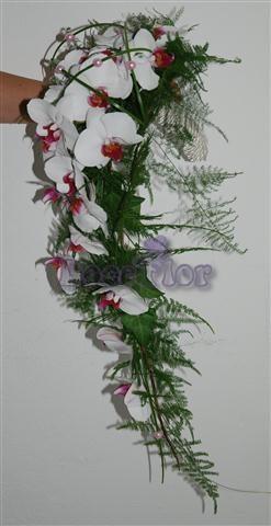 Ramo de noiva Orquidea Phalaenopsis
