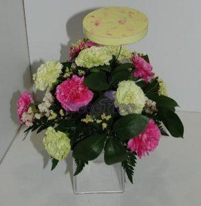 Caixinha com flores