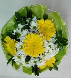 Bouquet de margaridas e gerberas