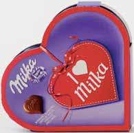 Chocolate caixa coração