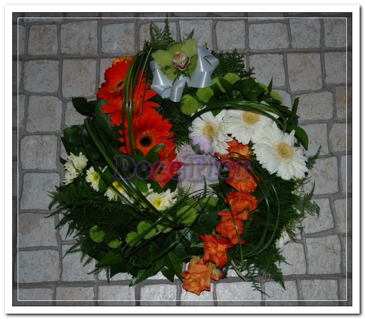 Coroa para Funeral Diferente
