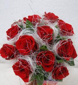 Ninho de Rosas Vermelhas